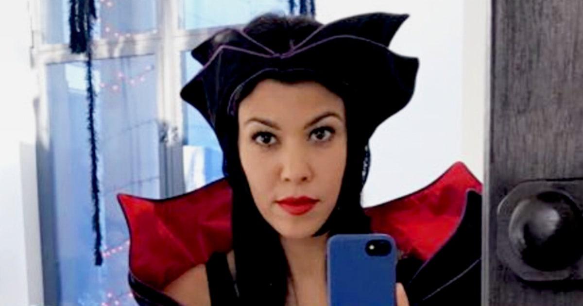 See kourtney kardashian penelope disick s halloween 2016 costumes