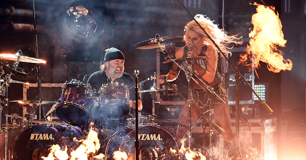 Metallica's Lars Ulrich Talks Grammy 'Snafu,' Lady Gaga ...