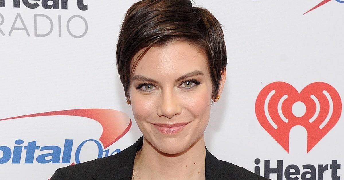 The Walking Dead S Lauren Cohan Debuts New Short Haircut