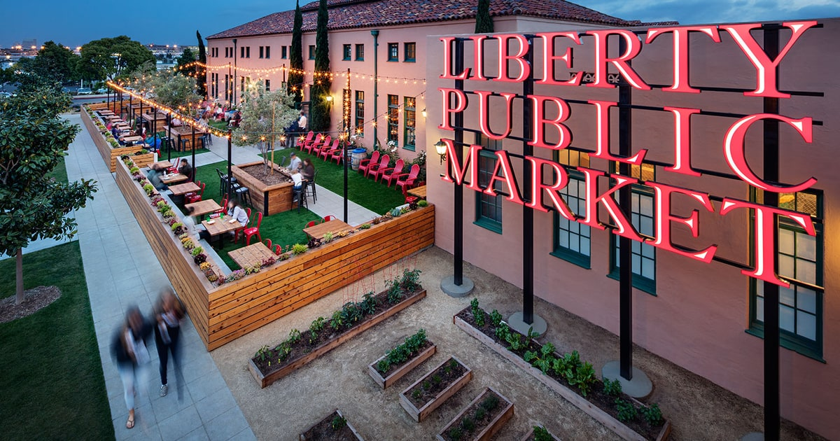 liberty public market san diego food hall beer crawl men 39 s journal. Black Bedroom Furniture Sets. Home Design Ideas