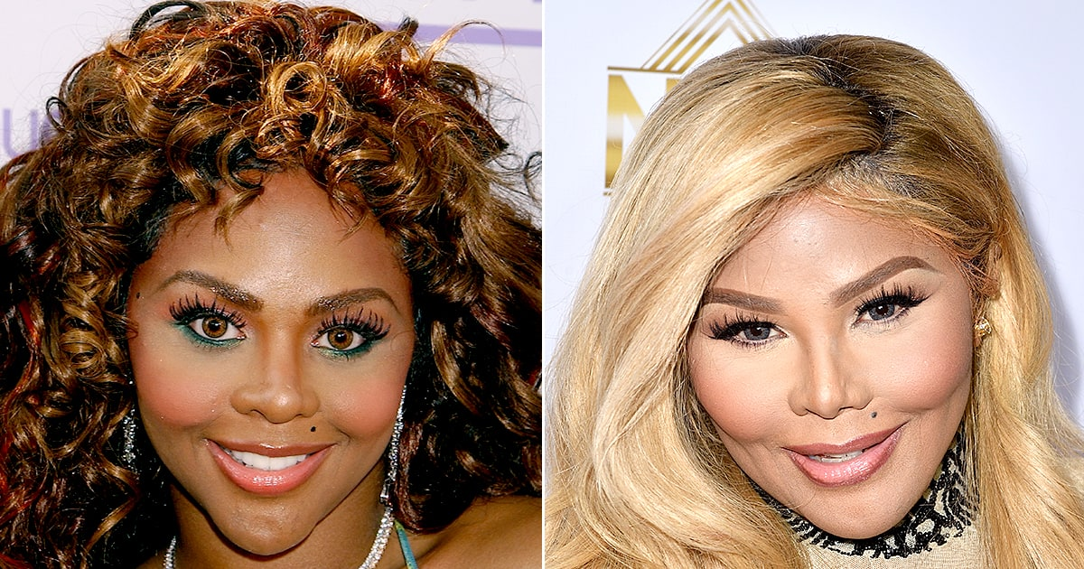 Lil Kim How Her Face Has Changed Us Weekly