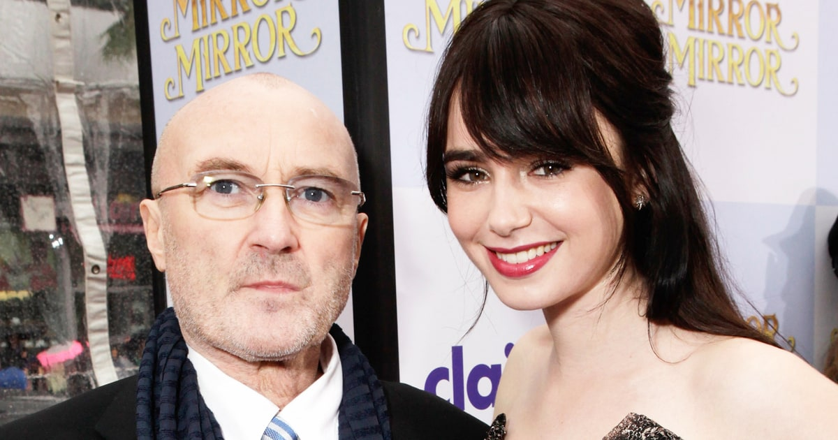 Lily Collins Pens Letter of Forgiveness to Dad Phil Collins