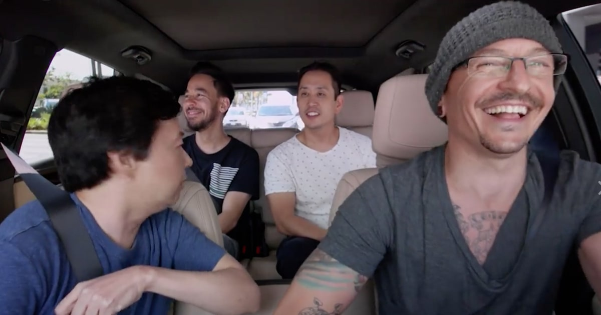 See Linkin Park's 'Carpool Karaoke,' Shot Before Bennington's Death