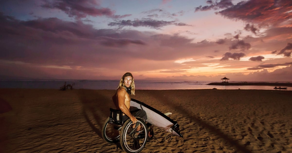 The All-True, Unbelievable, Death-Defying Tale of the World's Greatest Paraplegic Surfer