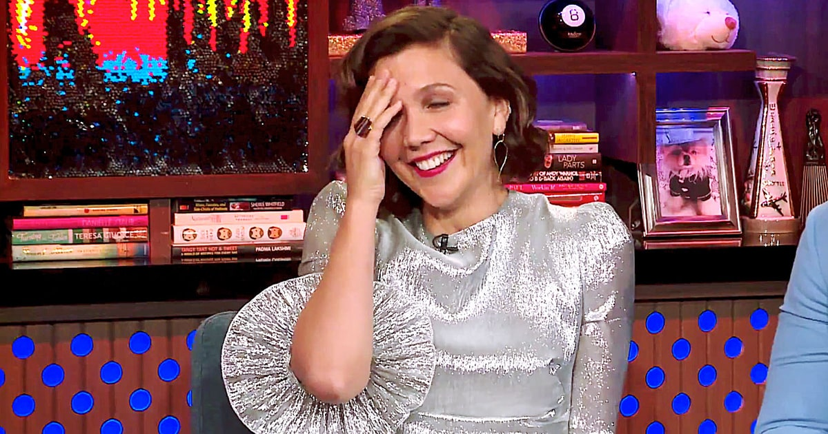 Watch Maggie Gyllenhaal Address Rumored Taylor Swift Song Mention