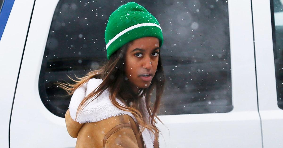 Malia Obama Spotted At Sundance Film Festival With
