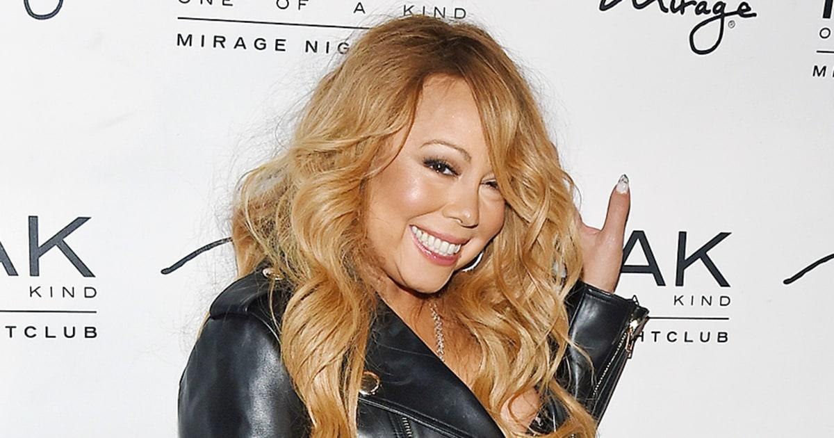 Mariah Carey Wears Lingerie For A Dj Gig Photos Us Weekly