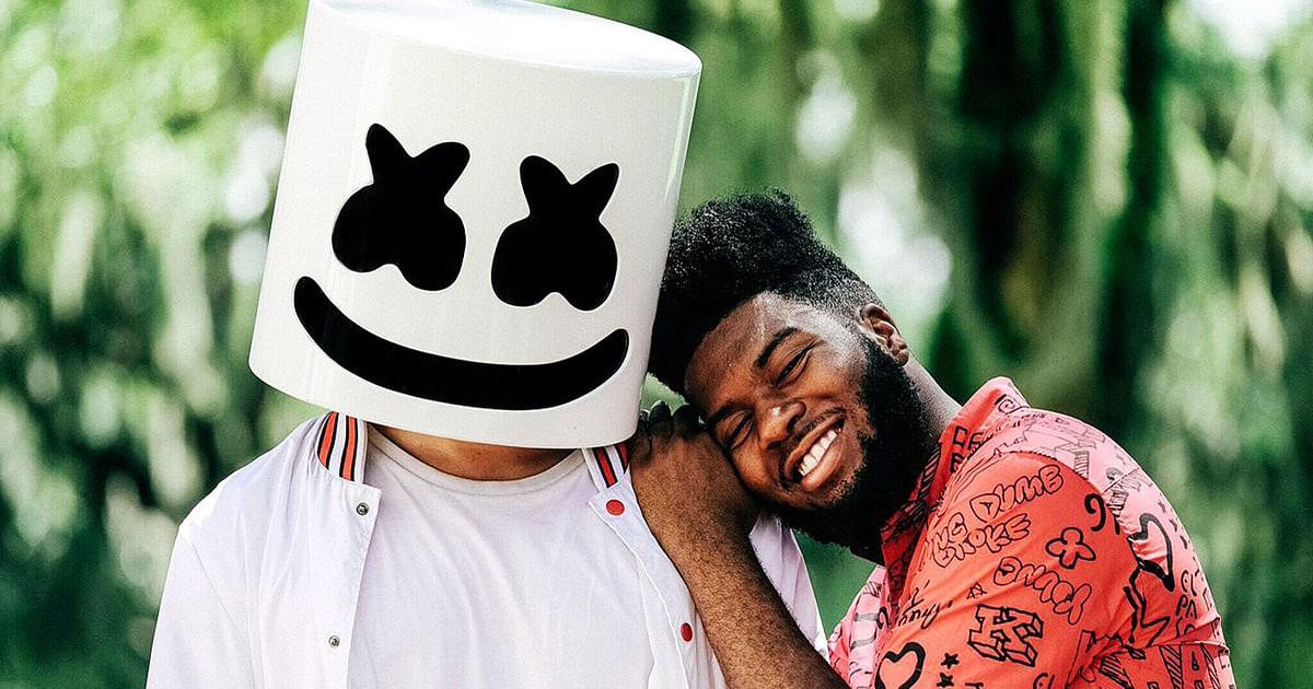 Hear Marshmello Khalid Unite On Stirring New Song Silence Rolling Stone