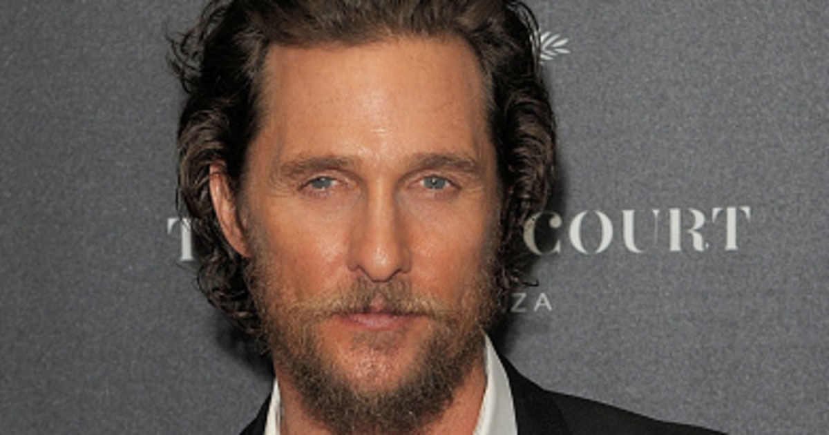 Matthew Mcconaughey It S Time For Us To Embrace Donald
