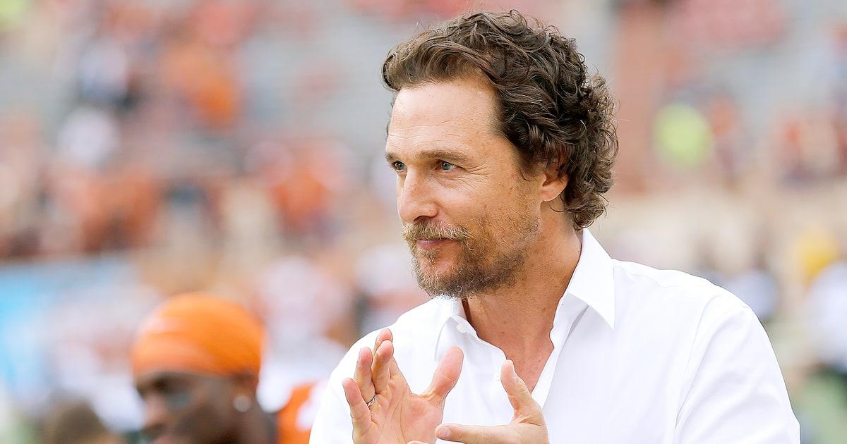 Matthew McConaughey Gi...