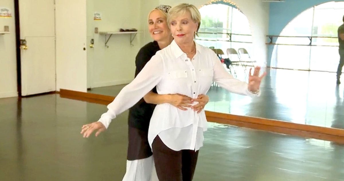 Maureen Mccormick Florence Henderson Dances With On
