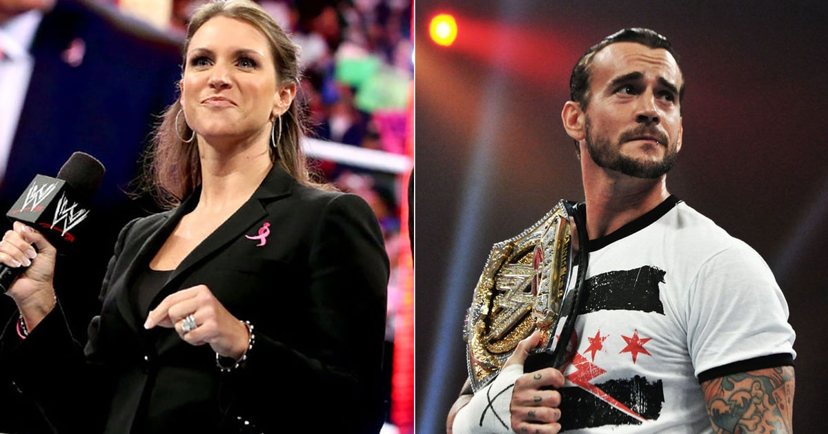stephanie mcmahon makes joke about cm punk 39 s ufc loss on raw rolling stone. Black Bedroom Furniture Sets. Home Design Ideas