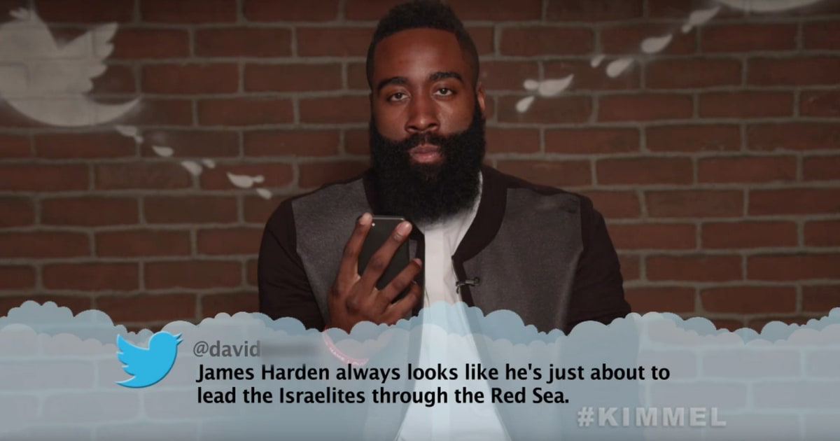 Magic Johnson, James Harden Read Mean Tweets on 'Kimmel' - Rolling Stone
