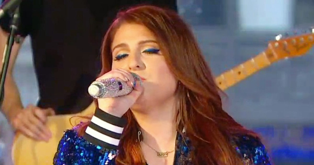 Meghan Trainor Has 'Bruises Everywhere' After Wipeout - Us Weekly