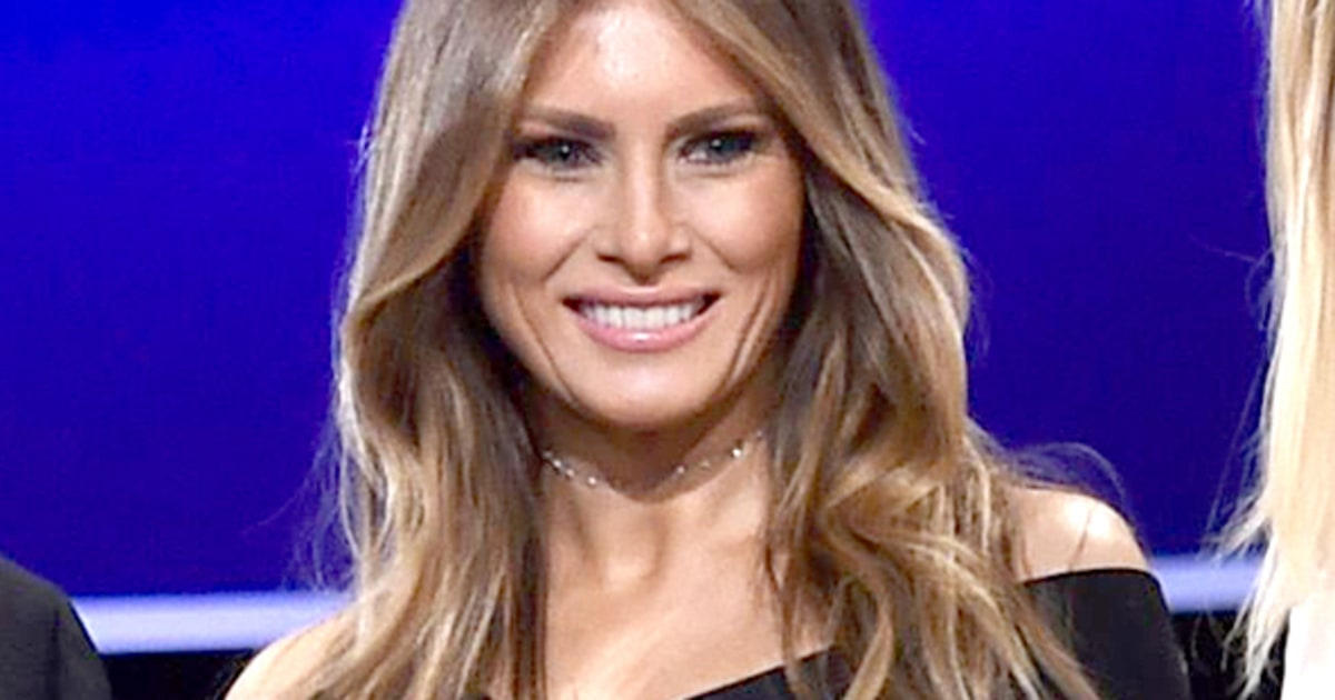 Melania Trumpu2019s $2,645 Presidential Debate Dress Sells Out ...