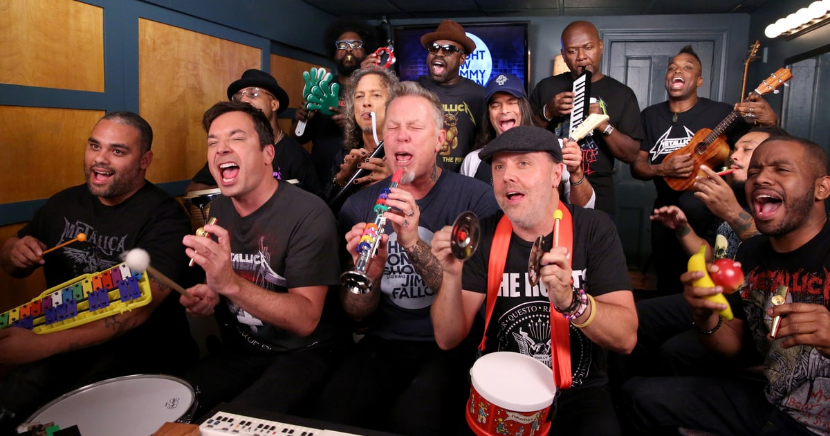See the Roots Perform Super Bowl Raps on Tonight Show news