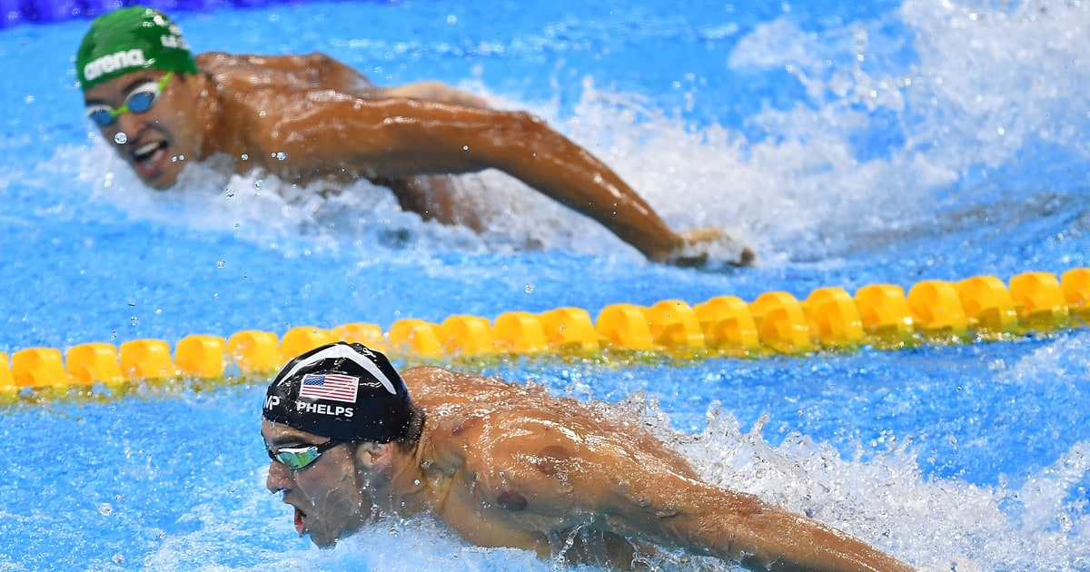 Michael Phelps Turns Chad le Clos Into Crying Jordan Meme - Rolling Stone