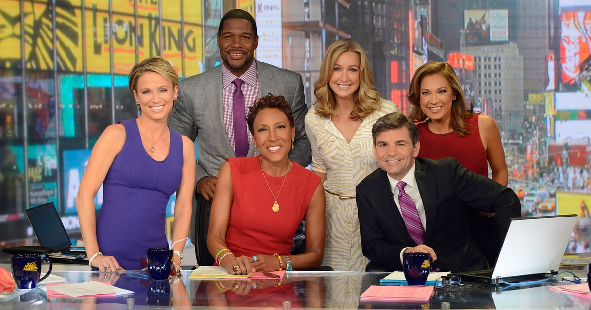'Good Morning America' Anchors 'Thrilled' to Welcome ... Good Morning America