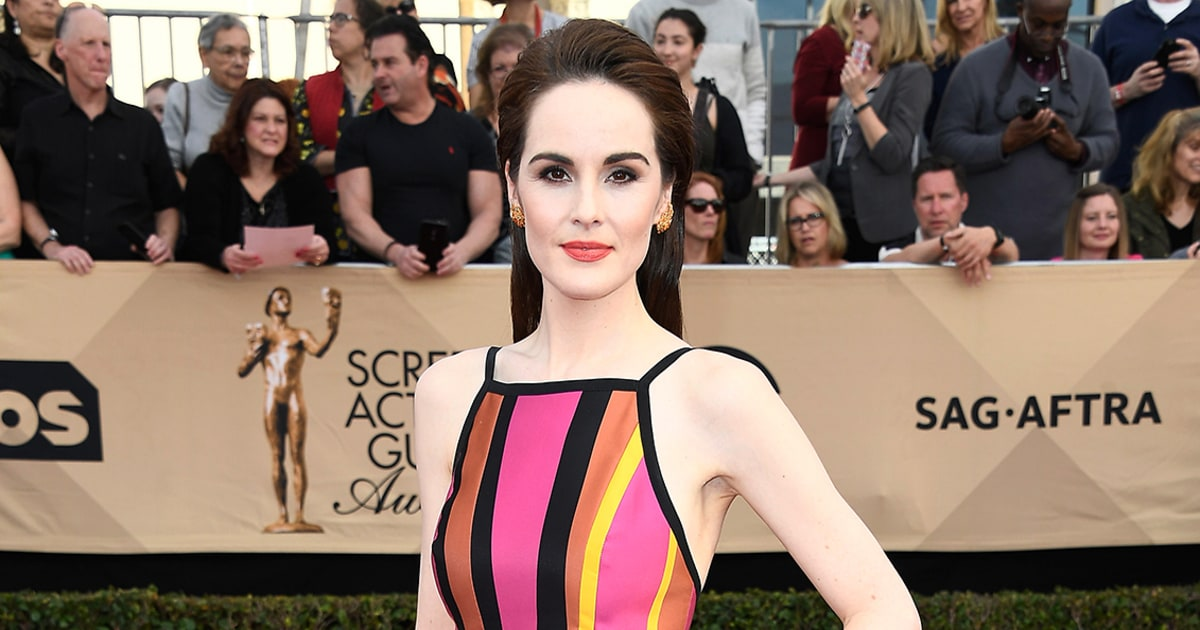 Michelle Dockery | 2017 SAG Awards: 8 Dresses We're on the ...