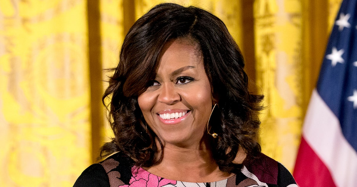 Astonishing Michelle Obama Debuts New Hairstyle Pics Us Weekly Short Hairstyles For Black Women Fulllsitofus