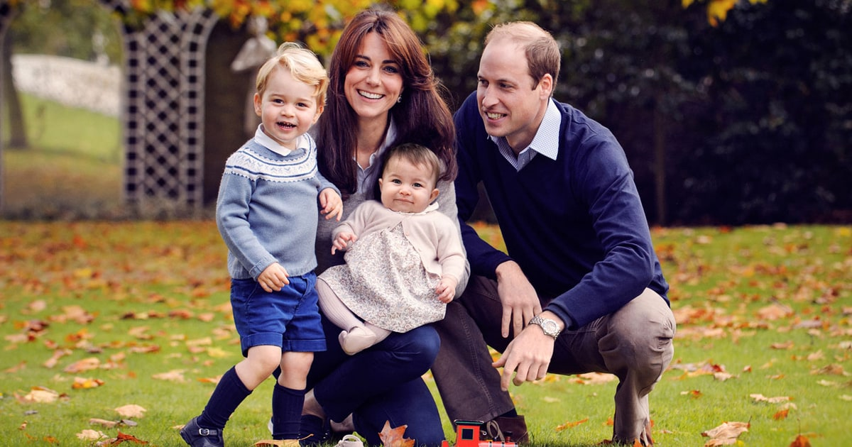 Prince William, Kate Middleton Release New Family Portrait as Their Christmas Card: See the Photo
