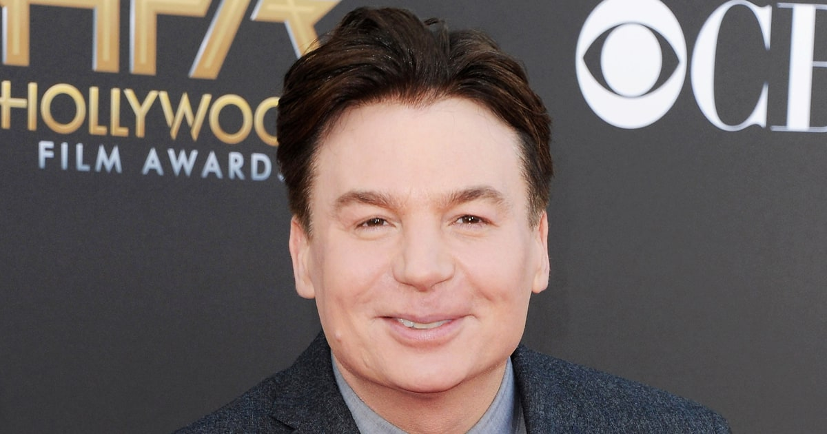 Mike Myers Has White Hair Now: Twitter's Best Reactions ... Katie Holmes Married