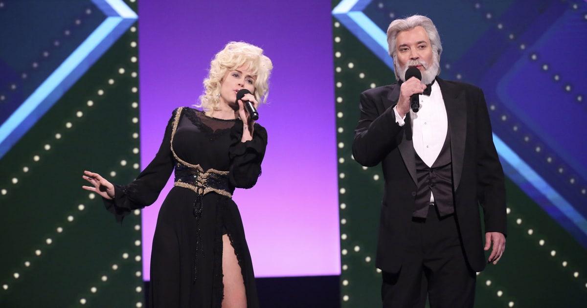 See Miley Cyrus, Fallon Duet as Dolly Parton, Kenny Rogers ... Adam Sandler