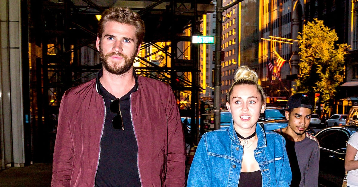 Miley Cyrus, Liam Hemsworth Hold Hands on NYC Date Night - Us Weekly