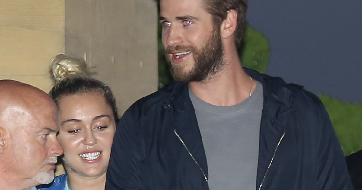 Miley Cyrus and Liam Hemsworth Have Cozy Dinner Date - Us Weekly