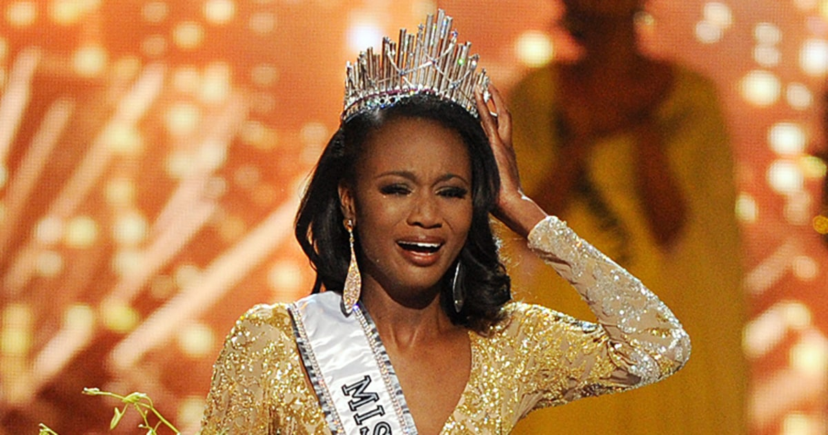 2016 Miss USA: Miss District of Columbia Deshauna Barber Wins - Us ...