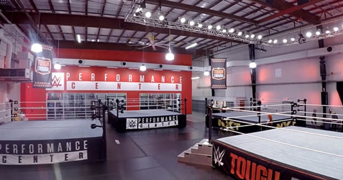 The World's Most Extreme Gym? Behind the Scenes of the WWE ...