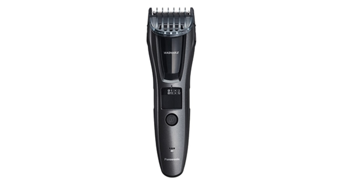 panasonic beard mustache and hair electric trimmer 12 beard trimmers that give good buzz. Black Bedroom Furniture Sets. Home Design Ideas