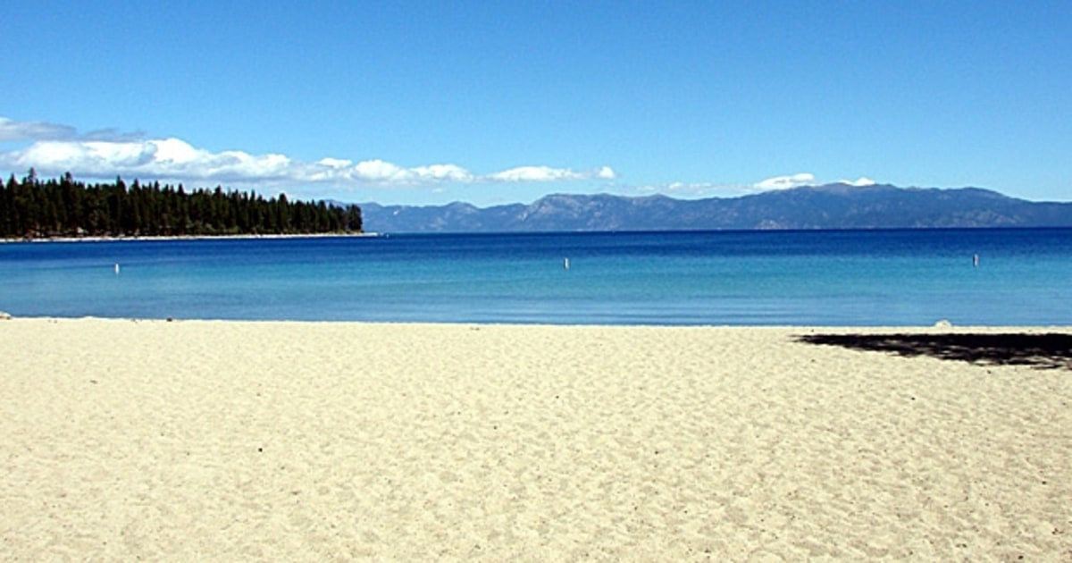 Bliss beach nevada the best lake beaches in america for Famous beaches in usa