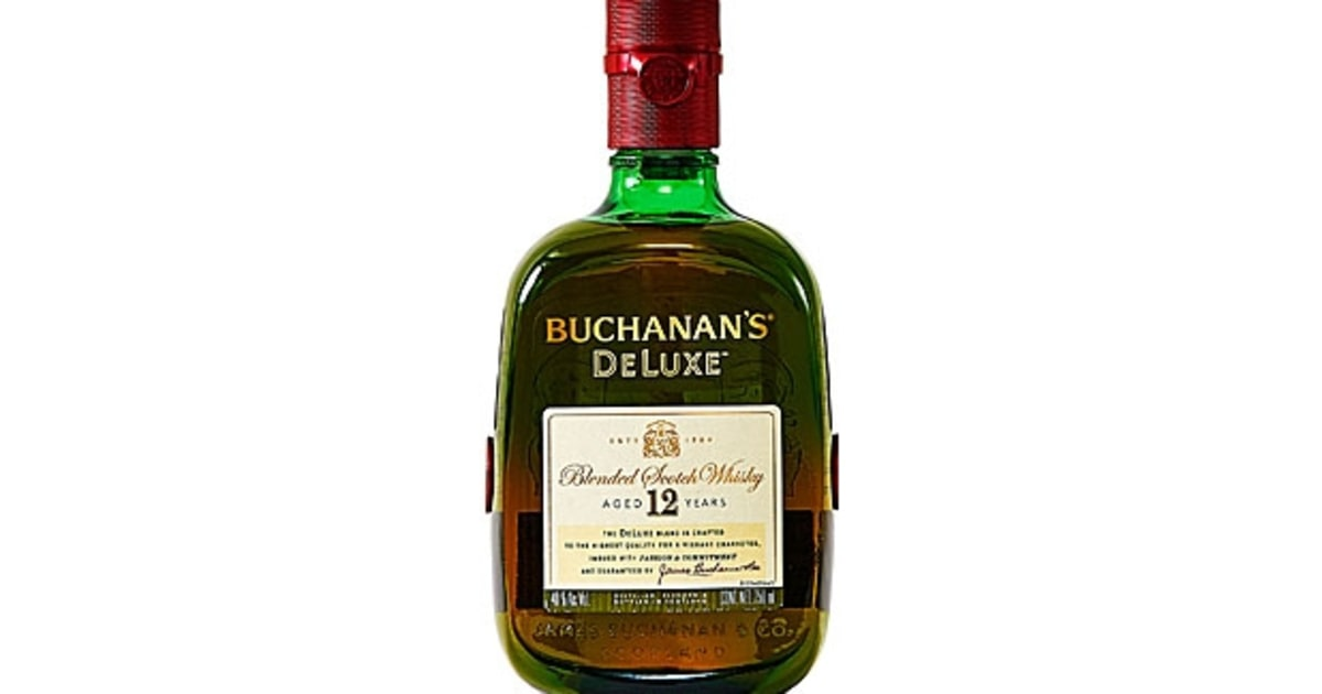 Buchanan's 12 Year Old Blended Scotch DeLuxe