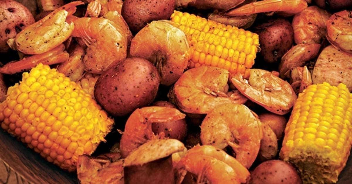 Cajun Shrimp Boil | 10 Slow Cooker Recipes for Hot Weather | Men's ...