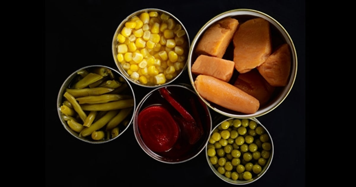 Canned Foods And Plastic Containers The Most Toxic