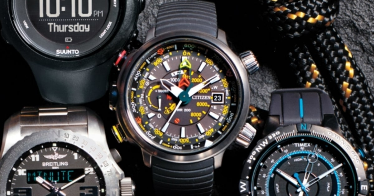Citizen promaster altichron the most rugged outdoor watches men 39 s journal for Outdoor watches
