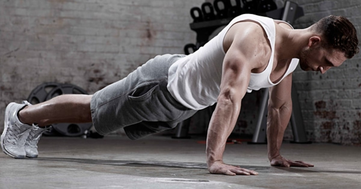 Classic Push Up The Only 8 Moves You Need To Be Fit