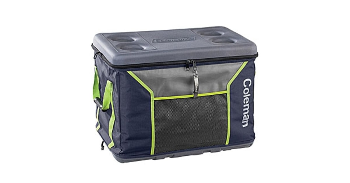 The Ultimate Cooler : Coleman collapsible sport cooler large your portable