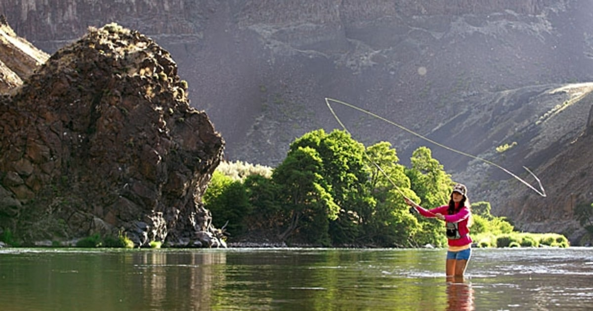 Deschutes river oregon fly fishing cast away the top for Fishing areas near me