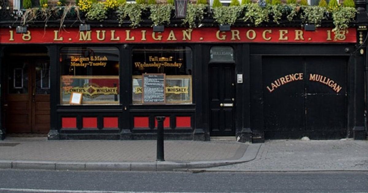 Dublin s best bar for eating l mulligan men 39 s journal for Best tattoo shop dublin