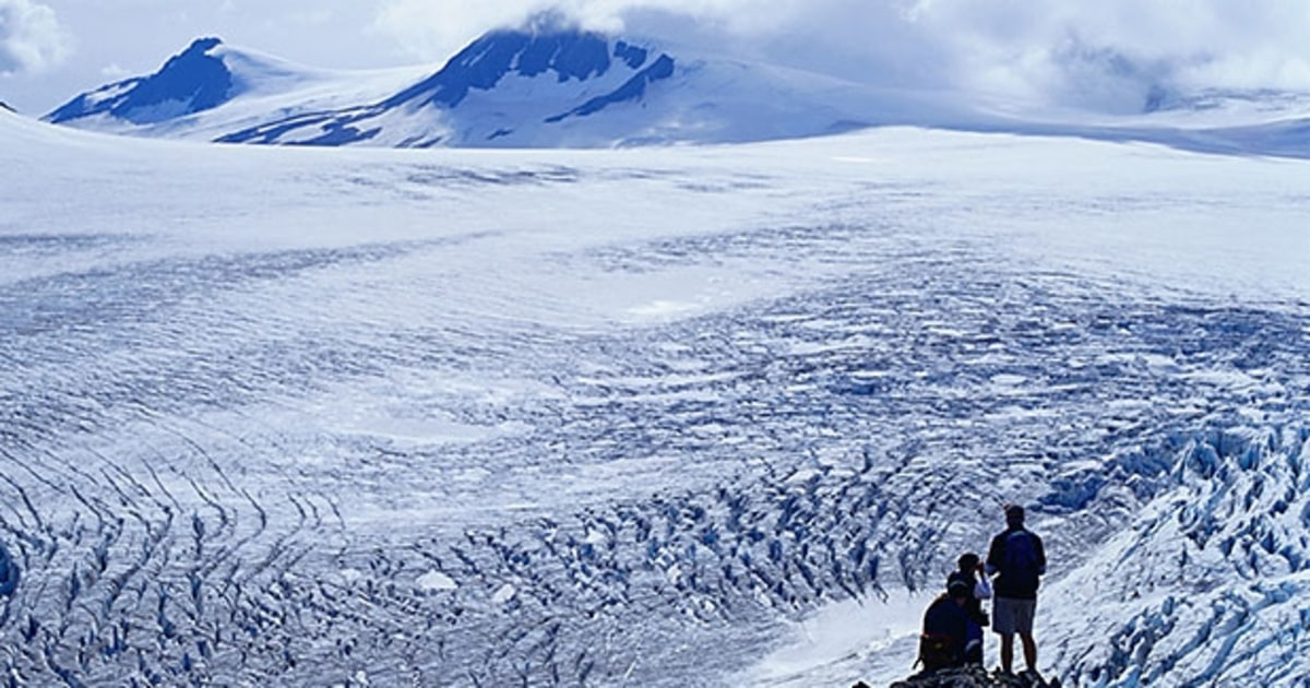 The Ice Fields and Glaciers | 17 Reasons Alaska Is the