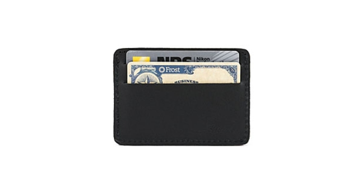 Saddleback Leather ID Wallet | Best New Wallets to Buy Now | Men's ...