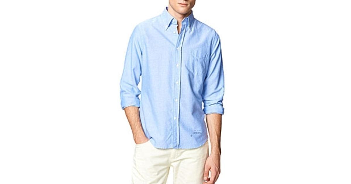 Gant Rugger Pullover Oxford Shirt | NATIONAL SHERIFFS' ASSOCIATION