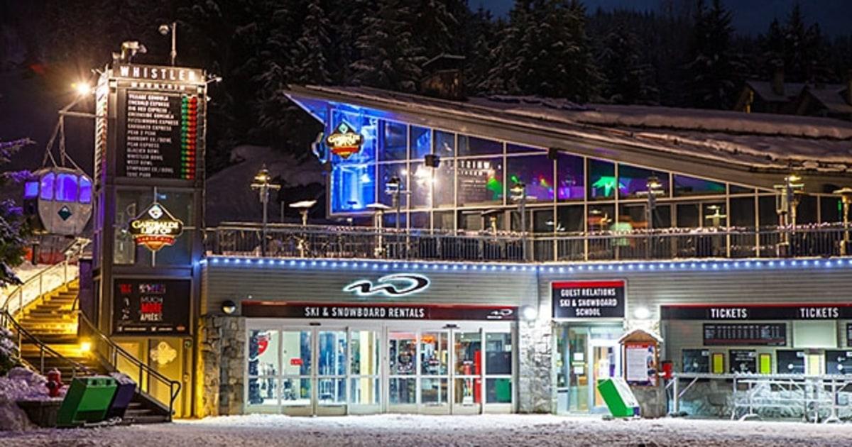 Garibaldi Lift Whistler Canada Best Apres Ski Parties
