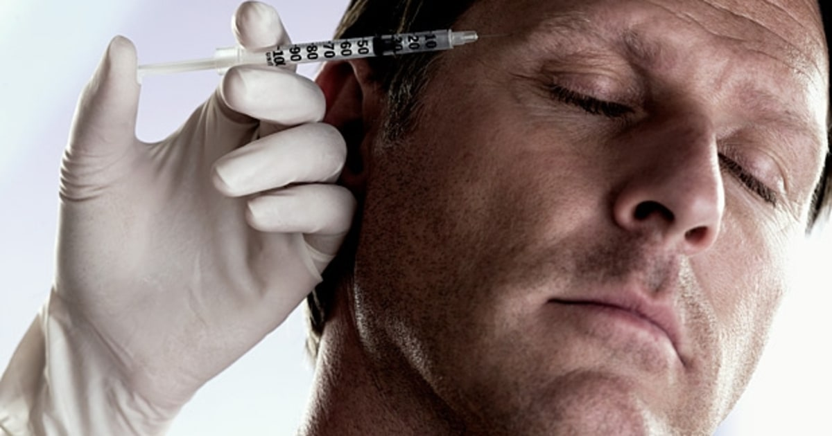 Getting Rid of Crows Feet With Botox - Mens Journal