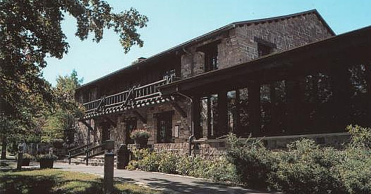 Giant City Lodge Illinois Wpa And Ccc Lodges For