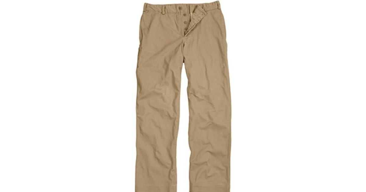How Make Your Khakis Look Good - Men's Journal