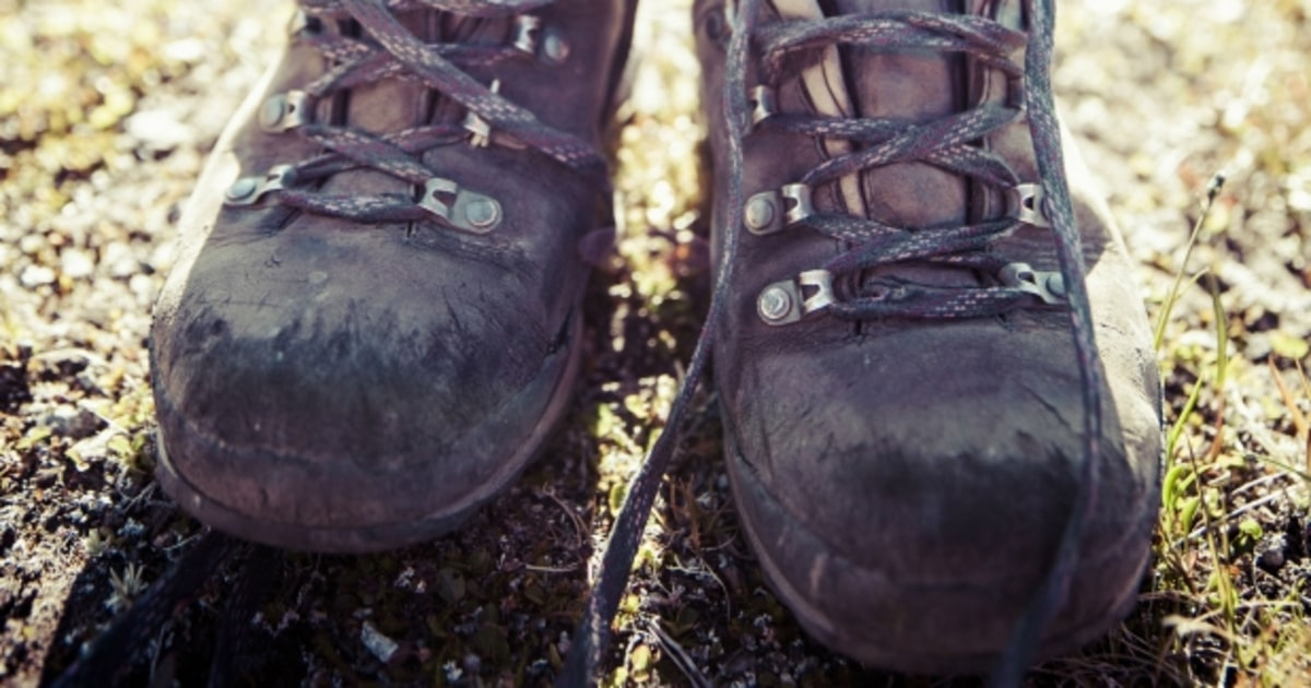 How to Resole Hiking Boots - Men's Journal