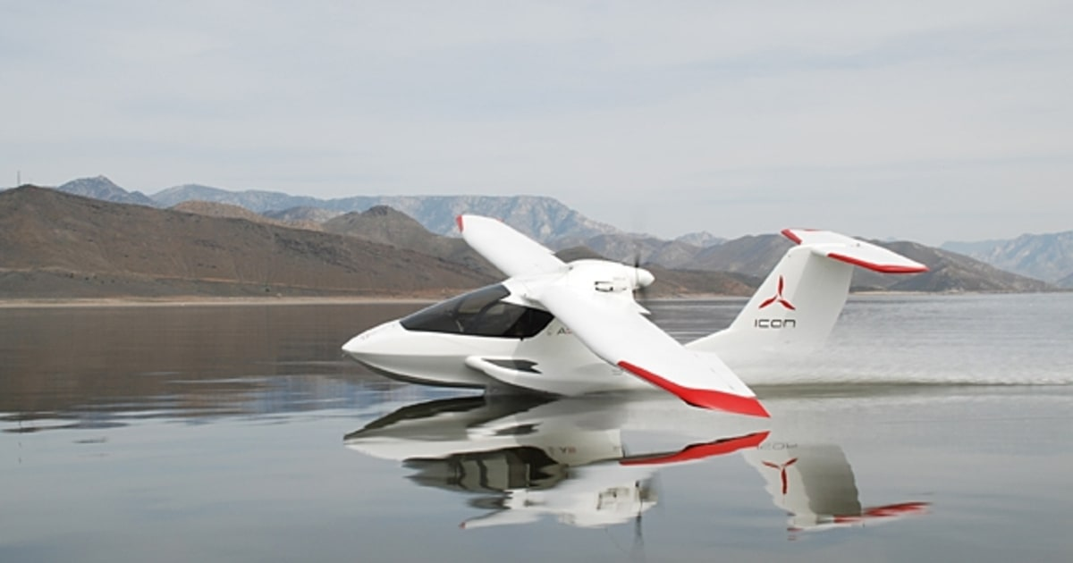Icon A5 Amphibious Light Sport Aircraft 12 Best Private